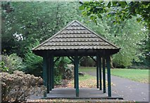 TQ3165 : Shelter, Wandle Park by N Chadwick