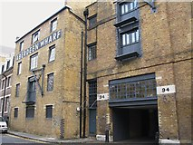 TQ3480 : Aberdeen Wharf, Wapping High Street, E1 by Mike Quinn
