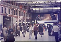 TQ3179 : Waterloo Station concourse (2) by Barry Shimmon