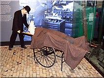 SU1484 : Industrial accident scenario, Steam Museum, Swindon by Brian Robert Marshall