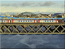 NZ2463 : Cross Country train crossing King Edward VII Bridge by Andrew Curtis