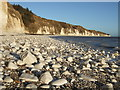 TA2169 : Rocky beach at Dykes End by JThomas