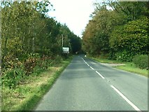 NX0054 : On the A77 approaching junction with the B738 by Ann Cook