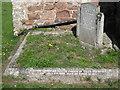SX9272 : Champion family memorial, St Nicholas's church, Ringmore: 2 by Robin Stott
