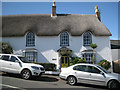 SX9272 : Thatched house on Ringmore Road hill: 1 by Robin Stott