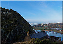 NS3974 : View From Dumbarton Rock by wfmillar
