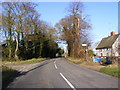 TM2867 : B1116 Laxfield Road by Adrian Cable