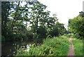 TQ0154 : E2 Path by the Wey Navigation by N Chadwick