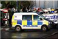 J5082 : Police van, Bangor by Rossographer
