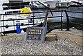 R6973 : Kincora Harbour opening commemoration stone, Killaloe, Co. Clare by P L Chadwick