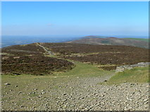 SJ1662 : View along the northern Clwydian Hills by Eirian Evans