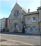 ST8558 : Grade II listed St James's Hall, Trowbridge by Jaggery