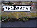 TM2677 : Sandpath sign by Adrian Cable