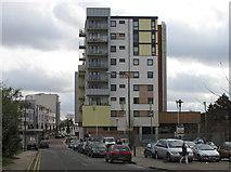 TQ1883 : Atlip Road with new flats of Alperton Village by David Hawgood