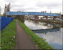 TQ1983 : Footbridge 11C Paddington Branch Grand Union Canal to Northfield Industrial Estate by David Hawgood