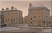 ST7565 : The Corner Of Great Pulteney Street from Sydney Gardens by Steven