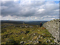 NY7438 : Summit area of Noonstones Hill by Trevor Littlewood