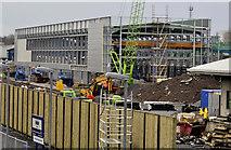 J3271 : New train maintenance depot, Belfast (23) by Albert Bridge