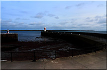 SC2667 : Castletown Outer Harbour by Andy Stephenson