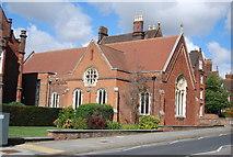 TM1645 : Chapel, Ipswich School by N Chadwick