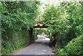 SU9855 : Railway Bridge over Prey Heath Rd by N Chadwick