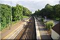 SU9855 : Portsmouth Main Line at Worplesdon by N Chadwick