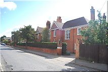TM1645 : Headmaster's House, Ipswich School by N Chadwick