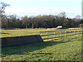 SK5721 : Equestrian exercise area by Alan Murray-Rust