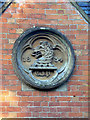 SK5721 : Roundel on the old school by Alan Murray-Rust