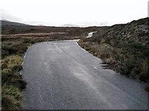 NG6819 : The old A851 towards Broadford by Richard Dorrell