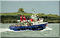 R0597 : The Inisheer ferry at Doolin by Albert Bridge