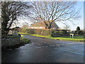 SJ9069 : Woodhouse End Road/Cowbrook Lane junction, Gawsworth by Peter Turner