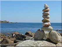 SV8707 : Pebble balancing by Colin Park