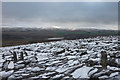 NY6709 : Snow on limestone pavement, Great Kinmond by Karl and Ali