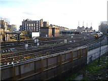 TQ2878 : The lines out of Victoria seen from Ebury Bridge by Marathon