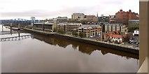 NZ2463 : Newcastle riverside between the Queen Elizabeth II & High Level Bridges by Andrew Curtis