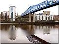 NZ2463 : Queen Elizabeth II Metro Bridge from the Gateshead bank by Andrew Curtis