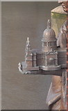 TQ3078 : A miniature of St Paul's Cathedral, Vauxhall Bridge by PAUL FARMER