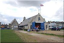 TR3751 : Walmer Lifeboat Station by N Chadwick