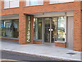 TQ2482 : Entrance to Nido Notting Hill, Alderson Street by David Hawgood