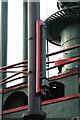SK5219 : Loughborough University - beam engine detail by Chris Allen