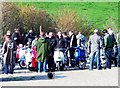 SY8280 : Mods, Car park, Lulworth Cove by nick macneill