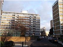 TQ2977 : Churchill Gardens Road, Pimlico by David Anstiss