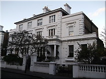 TQ2678 : No.7 and 8, The Boltons, Chelsea by David Anstiss