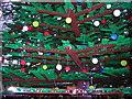 TQ3083 : St Pancras station, December 2011: Lego Christmas tree by Christopher Hilton