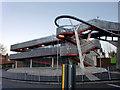 TQ2992 : Stairway, North Circular Road, New Southgate, London N11 by Christine Matthews