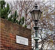 J3573 : Ravenhill Road sign, Belfast (3) by Albert Bridge