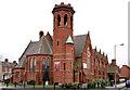 J3573 : Willowfield (CoI) parish church, Belfast (1) by Albert Bridge