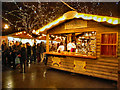 SJ8398 : Manchester Christmas Market, Albert Square by David Dixon