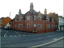 ST8558 : Grade II listed Yerbury Almshouses, Trowbridge by Jaggery